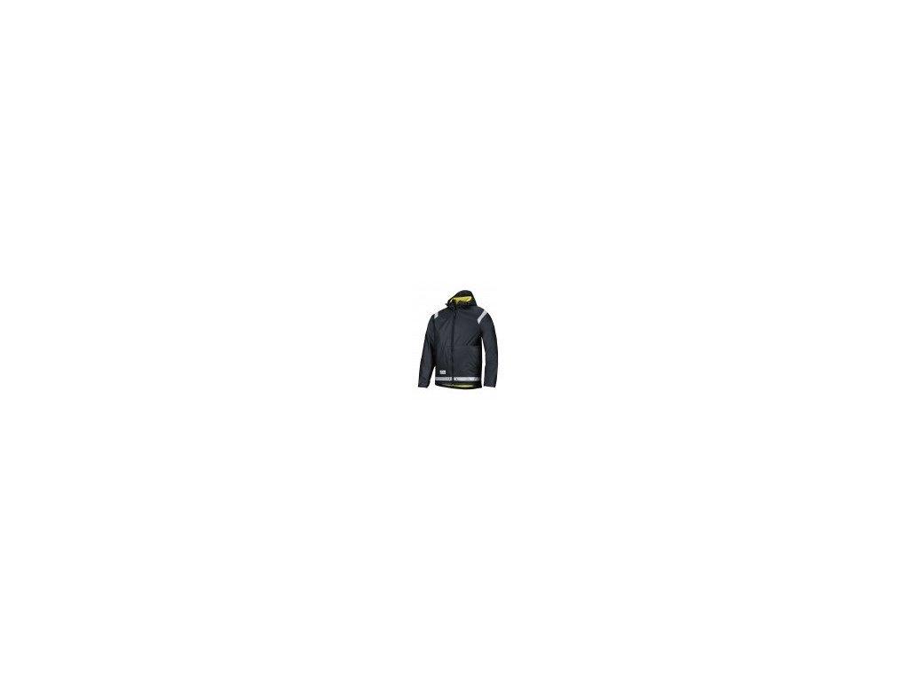 Bunda Snickers PU do dažďa 8200 (Farba čierna, Veľkosť XS)