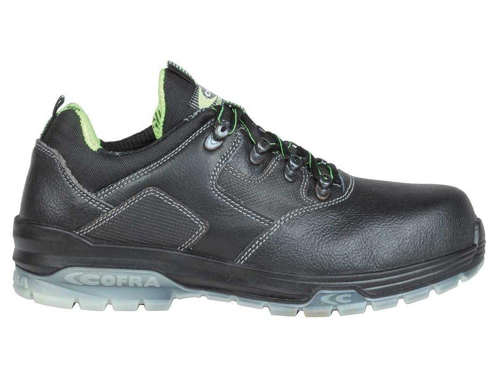 Pracovná obuv Cofra Tiziano Black S3 SRC (Veľkosť topánky 39)