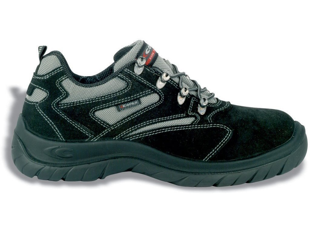 Nízka pracovná obuv COFRA RIMINI BLACK S1 P SRC (Veľkosť topánky 42)