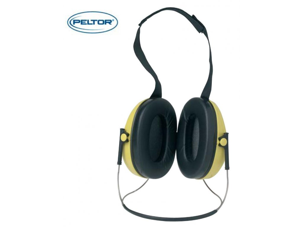 7604 ochranna sluchatka proti hluku peltor optime ochranna sluchatka 1h510b uchytovy oblouk pres zatylek