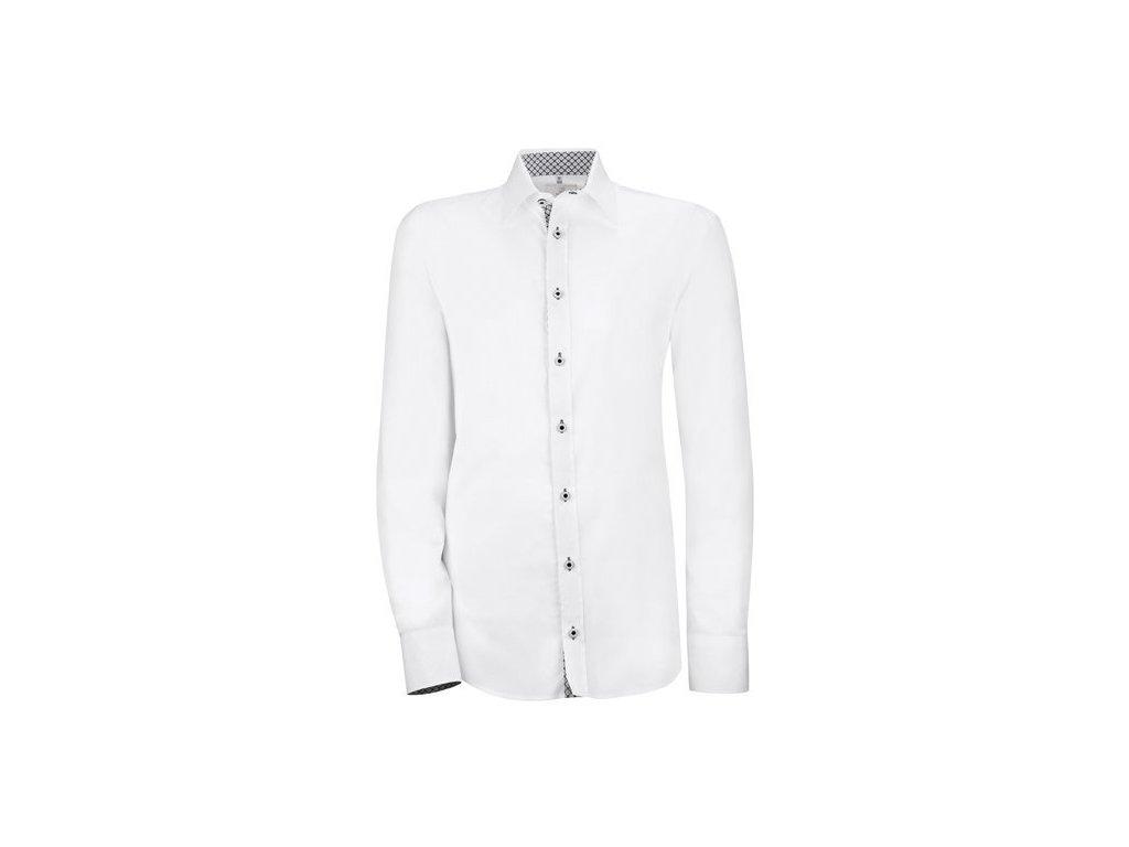 Pánska košeľa MODERN 6663.1710 (Farba biela, Veľkosť 37/38)