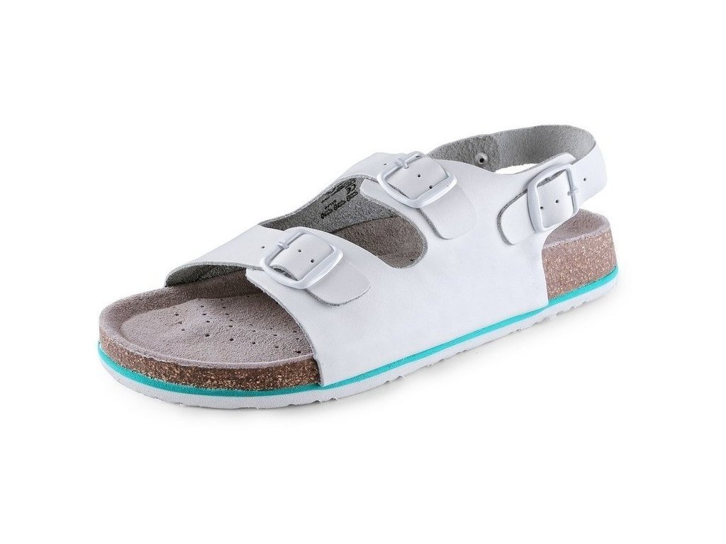 Pánske sandále CXS CORK MEGI s pásikom (Veľkosť topánky 42)