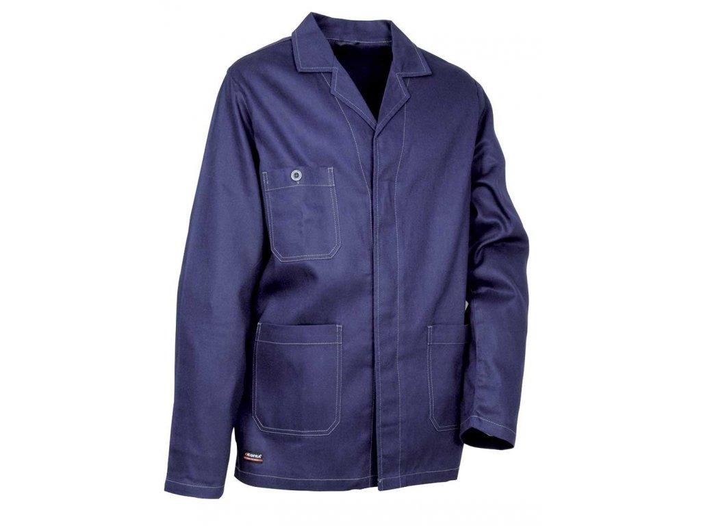 Pracovná blúza COFRA BOTSWANA 270 g / m2 (Farba modrá, Veľkosť 44)