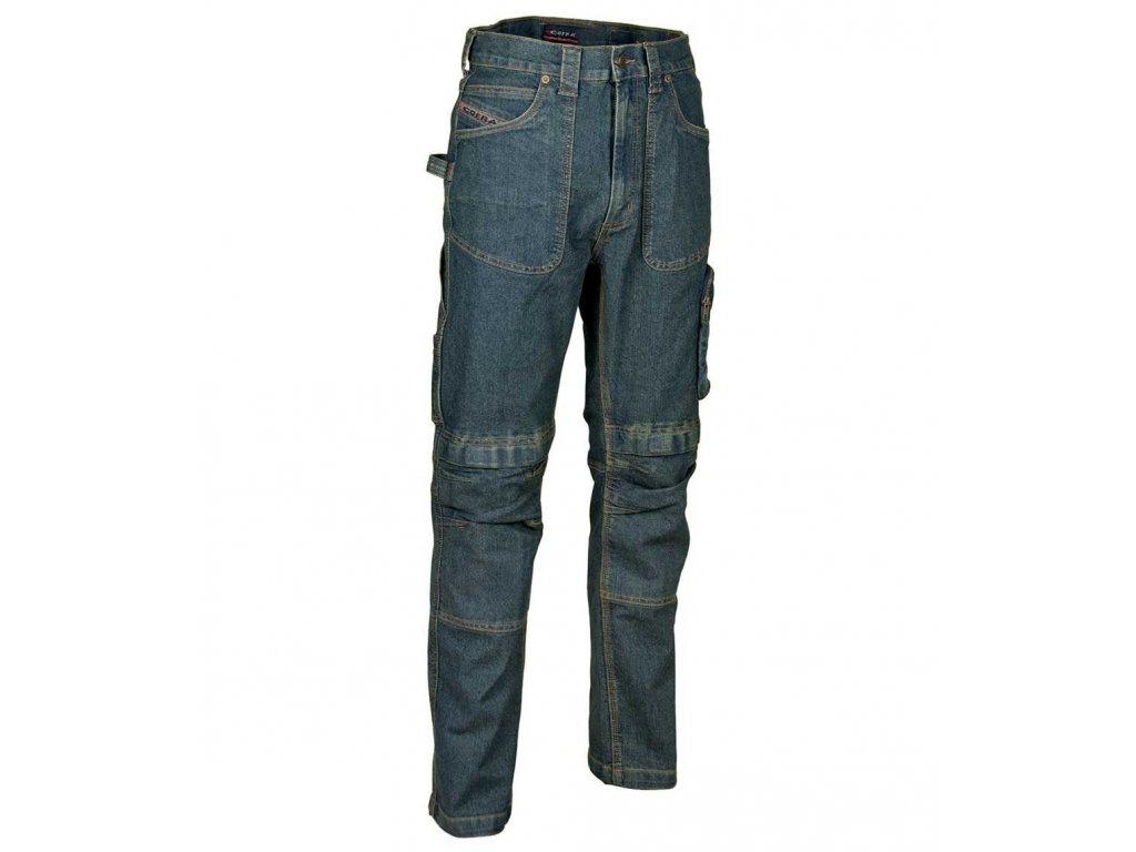 Pracovné nohavice COFRA DÜSSELDORF 440 g / m2 (Farba modrá, Veľkosť 44)