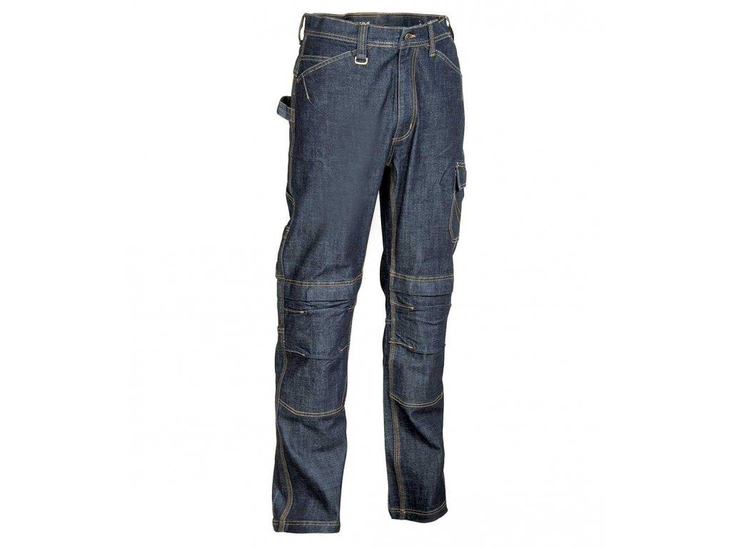 Pracovné nohavice COFRA BIARRITZ 410 g / m2 (Farba modrá, Veľkosť 44)