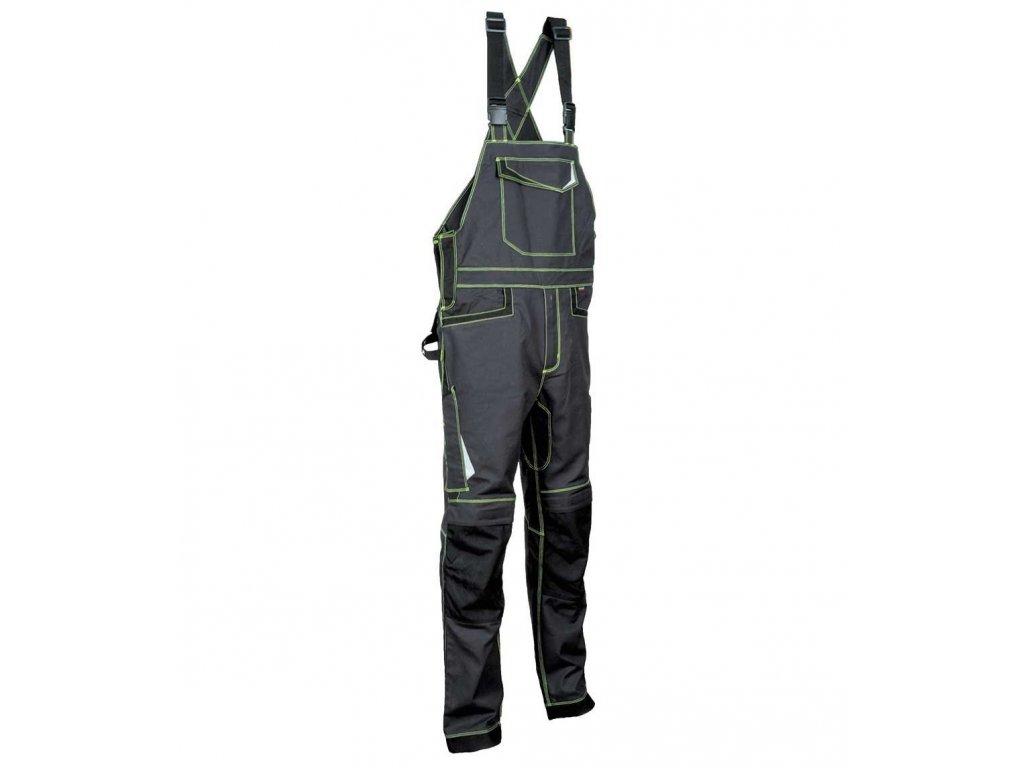 Pracovné nohavice COFRA VISEU s trakmi 300 g / m2 (Farba Modrá / Sv.modrá, Veľkosť 44)
