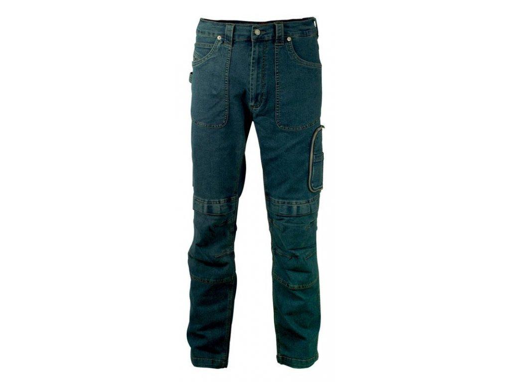 Pracovné nohavice COFRA DORTMUND 330 g / m2 (Farba modrá, Veľkosť 44)