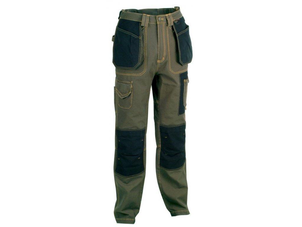 Pracovní kalhoty COFRA ROTTERDAM 250 g/m2 (Barva Černá, Velikost 64)