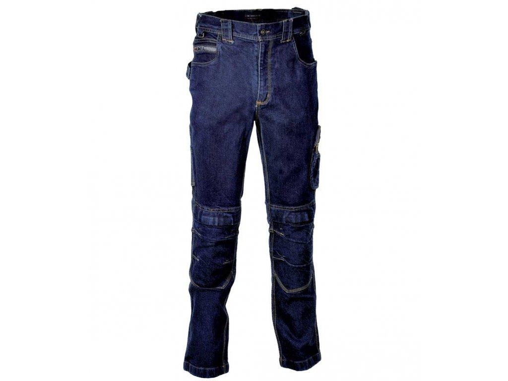 Pracovné nohavice COFRA TOUGH 425 g / m2 (Farba tmavo modrá, Veľkosť 44)