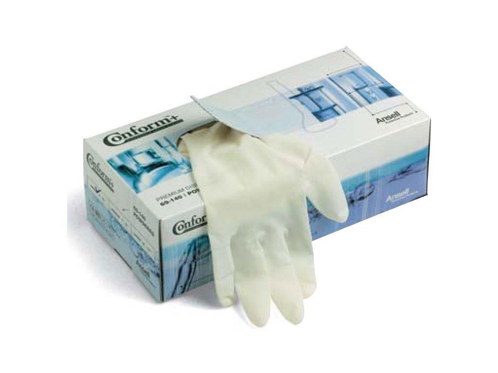 Pracovné rukavice Ansell - Conform® 69-140 - Kombinácia bezpečnosti a pohodlia pre jemnú manipuláciu 69-140 (Veľkosť rukavíc 5 - 6,5)