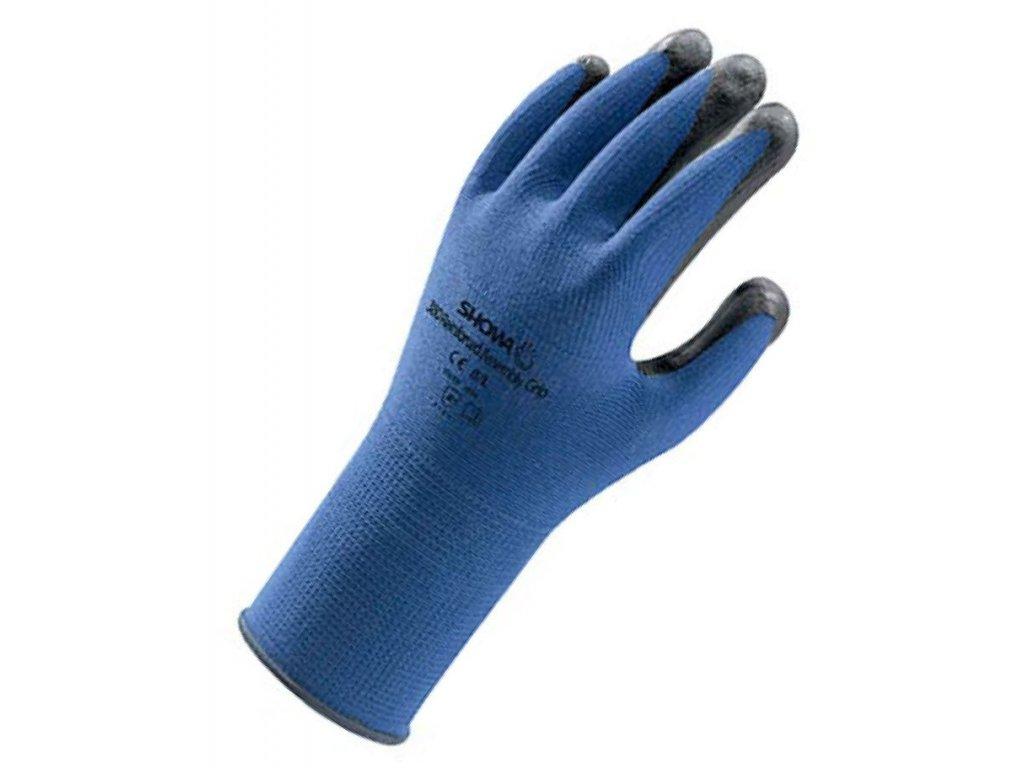 Pracovné rukavice Showa Nitril Foam 380 - pracovné rukavice z nekonečného vlákna nylonu (Veľkosť rukavíc 6 / S)