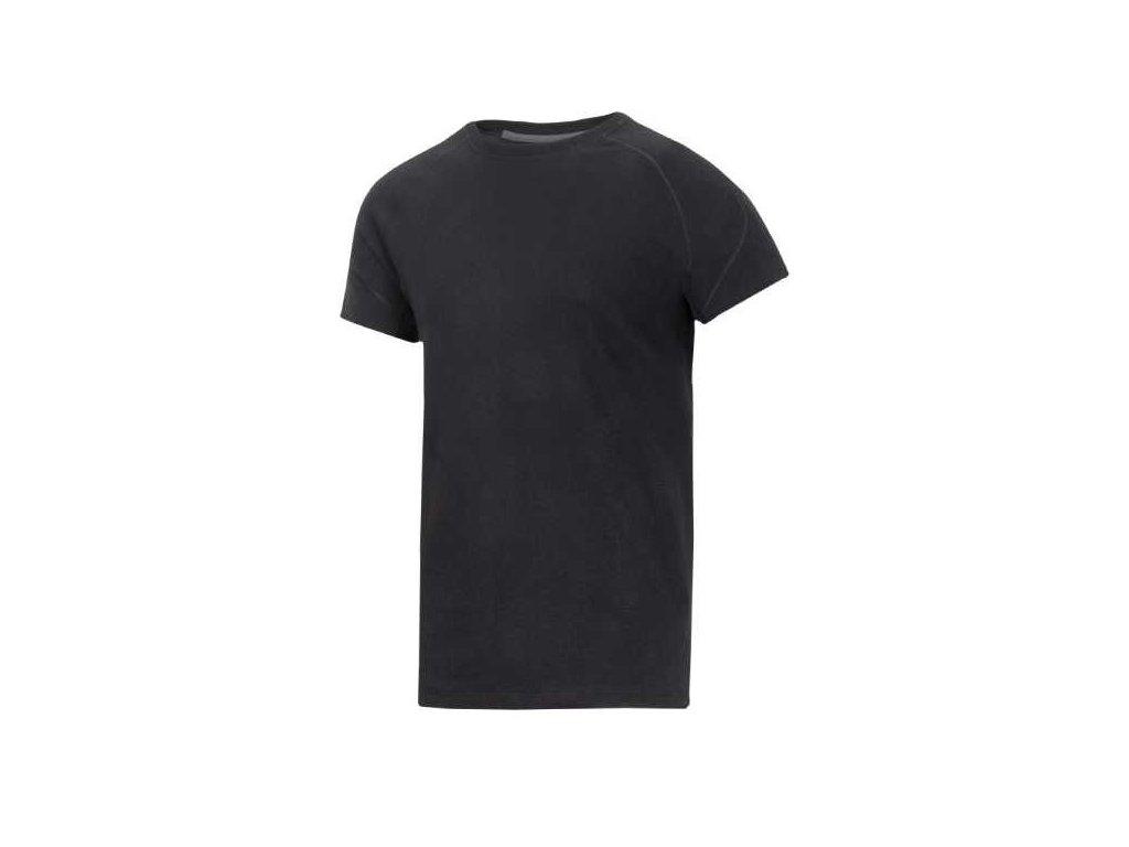 Pracovné tričko žiaruvzdorné SNICKERS 9417 (Farba čierna, Veľkosť S)