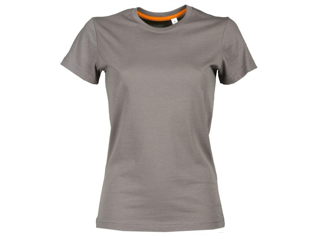 Dámske tričko FREE 150 GR / MQ (Farba šedá, Veľkosť XS)