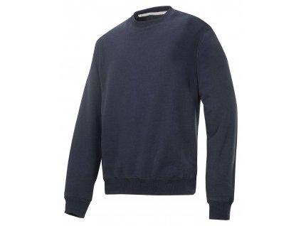 Mikina Classic tm. modrá vel. XXXL Snickers Workwear (Veľkosť XS)