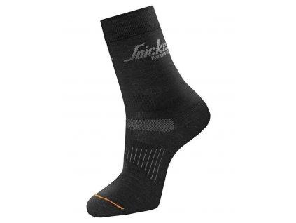Ponožky vlněné AllroundWork 2-balení vel. 45–48 Snickers Workwear (Veľkosť 41-44)