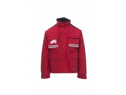 Bunda Payper TORNADO (Farba červená, Veľkosť 3XL)