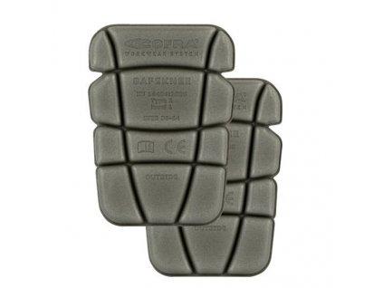 Kolenné vypchávky COFRA SafeKnee (Farba šedá, Veľkosť XL)
