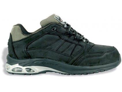 Nízka pracovná obuv COFRA GHOST BLACK S3 (Veľkosť topánky 45)