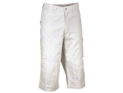 Maliarske pracovné nohavice 3/4 COFRA CAIRO 245g / m2 (Farba biela, Veľkosť 2XL)