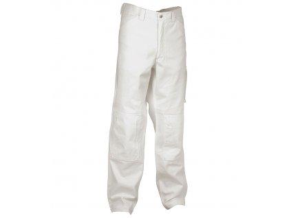 Maliarske pracovné nohavice COFRA MUMBAI 245g / m2 (Farba biela, Veľkosť 2XL)
