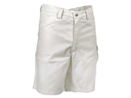 Maliarske pracovné kraťasy COFRA DELHI 245g / m2 (Farba biela, Veľkosť XXL)