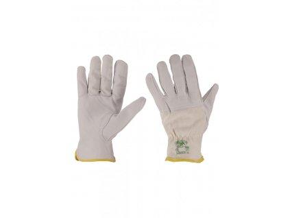 Pracovné rukavice z ovčej kože Payper 50/55 P3 (Farba ľadovo Biela, Veľkosť 10)