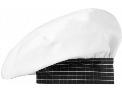Čiapky 5714.471 (Farba Biela / čierna - biele káro, veľkosť jednotná)