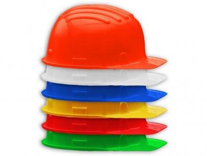 Ochranná prilba STAVBAŘ g14614 (Farba oranžová, Veľkosť univerzálny)