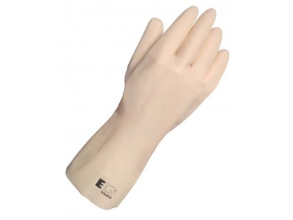 Ochranné pracovné rukavice EDIS TOUCH - prírodný latex (veľkosť rukavíc 7)