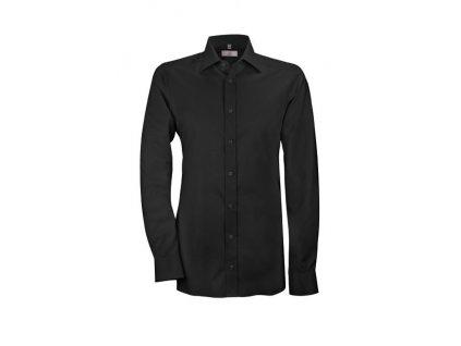 Pánska košeľa MODERN 6689.1710 (Farba čierna, Veľkosť 37/38)