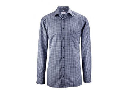 Pánska košeľa PREMIUM 6610.1225 (Farba Tmavo modré káro, Veľkosť 37/38)