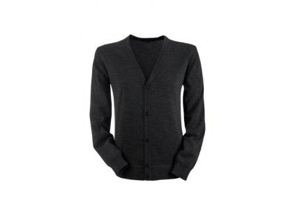 Pánsky sveter STRICK 6043.5050 (veľkosť 2XL, farba čierna)