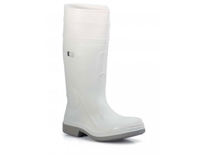 Pracovné bezpečnostné čižmy biele - EDIS - STIVAL sicurezza BIANCO - čižmy z PVC a nitrilovej gumy (veľkosť topánky 38)