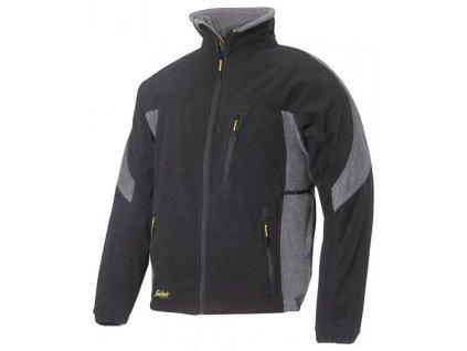 Pracovná bunda fleeceová ochranná SNICKERS 8010 (Farba Čierna / sivá, veľkosť XS)