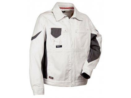 Bunda COFRA DANZICA 300g / m2 (Farba Biela / čierna, Veľkosť 44)