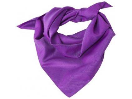 šatka 6901.9800.055 (Farba lila, Veľkosť 70x70)