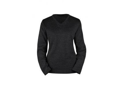 Dámsky sveter STRICK 6050.5050 (veľkosť 2XL, farba čierna)