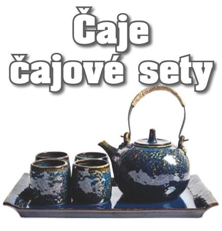 Čaje a čajové příslušenství