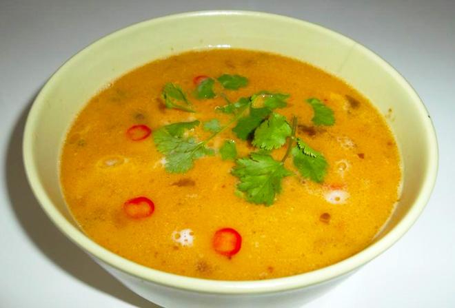 Šafránová polévka