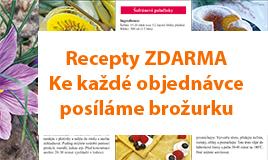 Brožurka receptů se šafránem