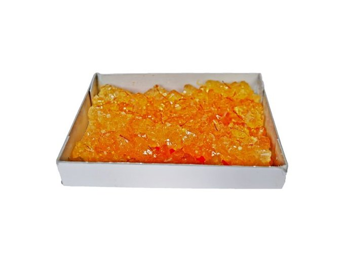 Candy šafránová cukrovinka