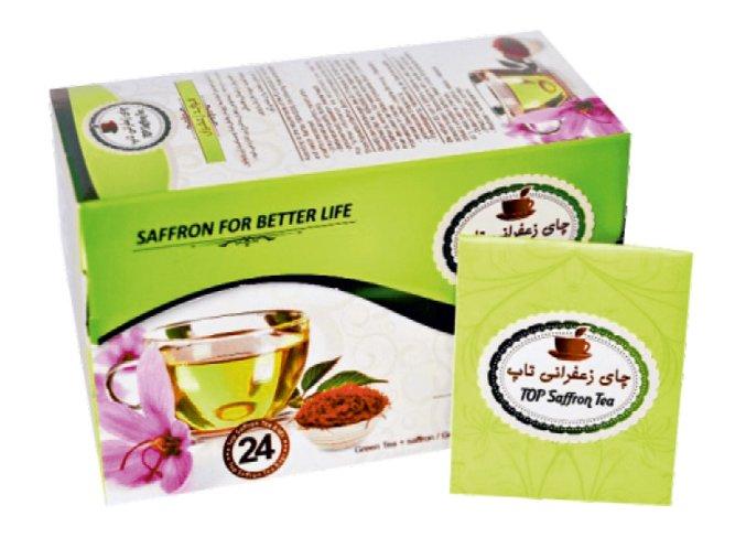 Šafránový čaj zelený