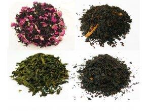 Mix 4 druhů čaje