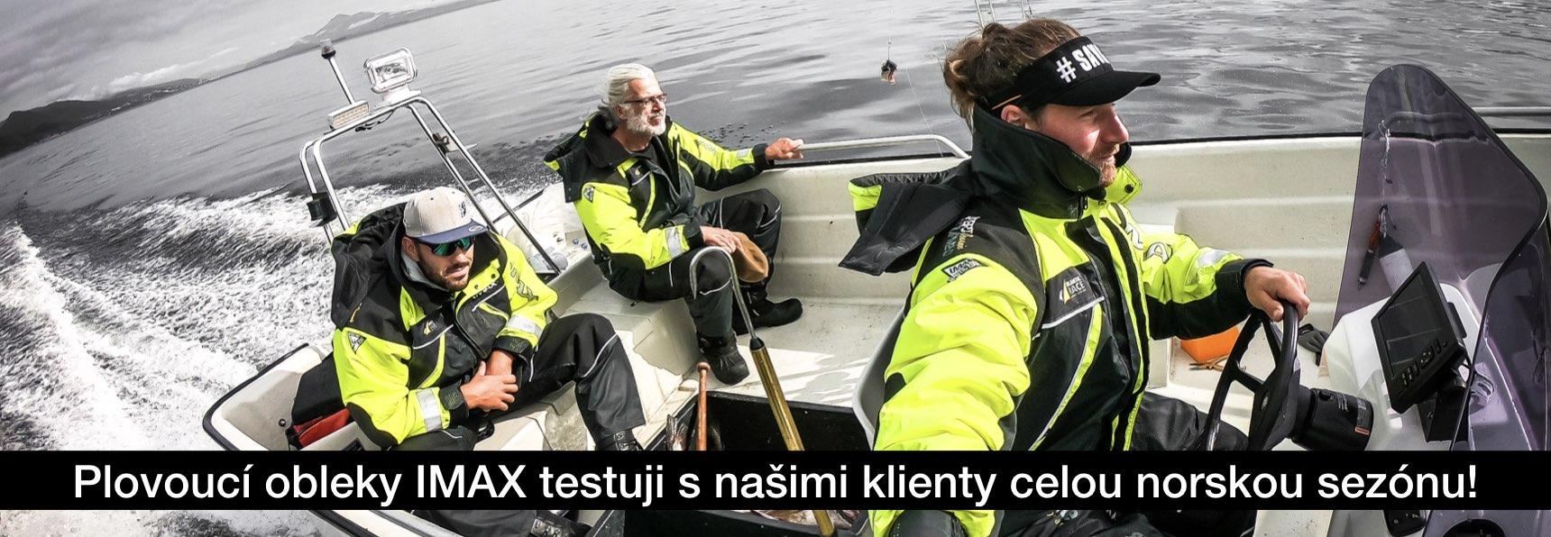 Test plovoucích obleků Imax