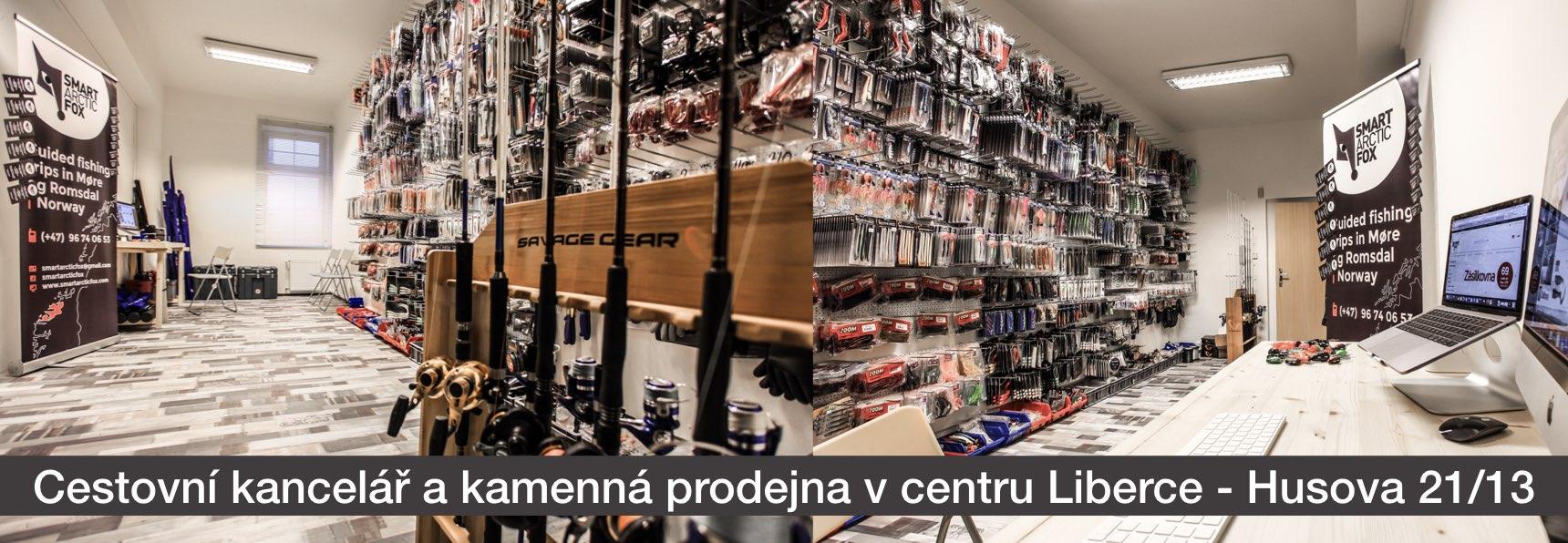 Cestovní kancelář a kamenná prodejna v centru Liberece - SMART ARCTIC FOX