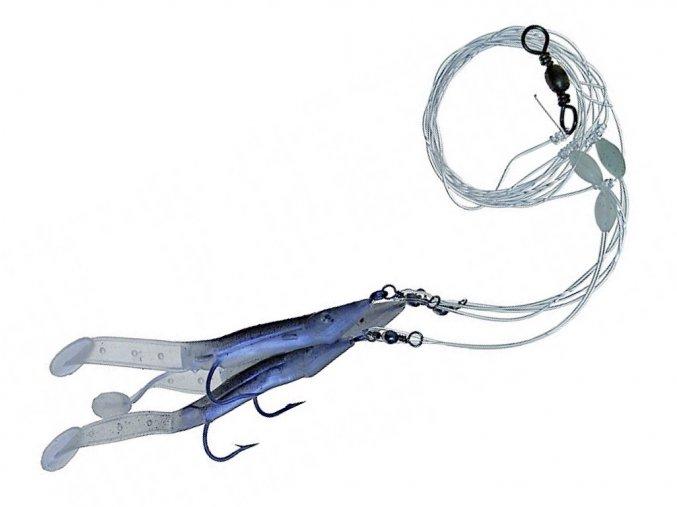 Úhoříci - návazec A ICE fish (4/0-8/0)