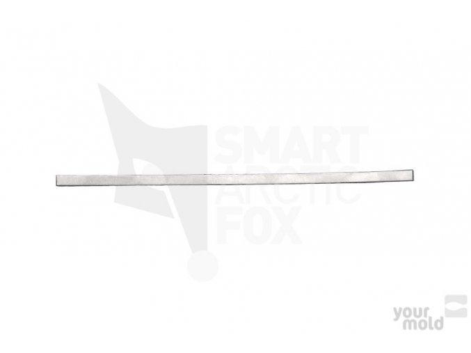 Plechové vodítko do formy na čeburašku 0.6mm