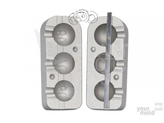 Forma na olovo F178 - jigová zátěž čeburaška (60/70/80g)
