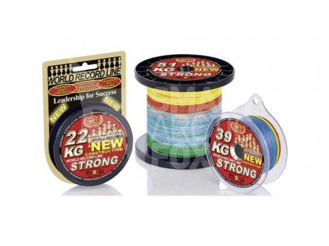 Pletená šňůra WFT KG Strong Multicolor