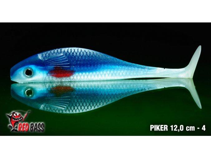 Vláčecí ryba REDBASS PIKER 120mm - 4